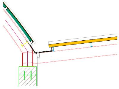 Cubierta panel sandwich dwg reparaci n del techo de la casa for Panel de cubierta tipo sandwich