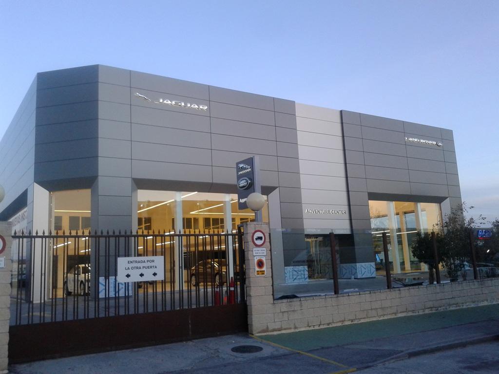 Revestimiento de fachadas fachada panel composite de - Revestimientos de fachadas ...