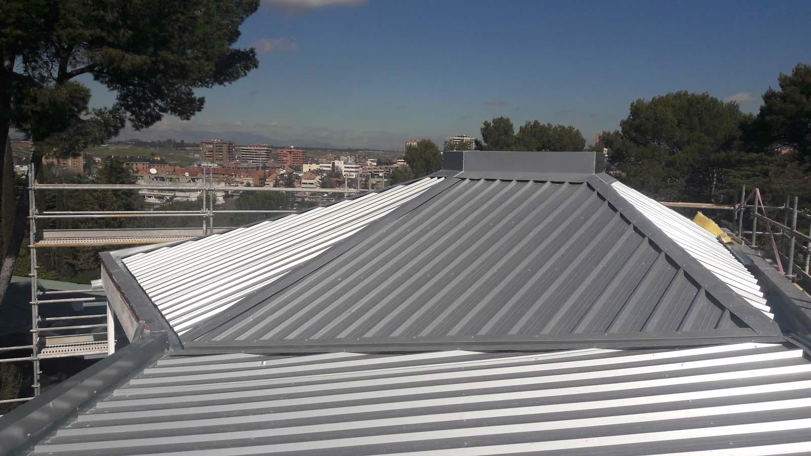 Cubierta vivienda en madrid for Viviendas compartidas en madrid