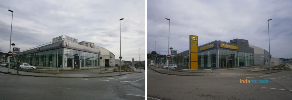 Opel Avilés antes después