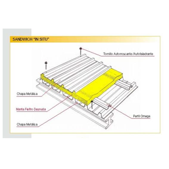 Cubiertas de tejados sandwich materiales de construcci n - Materiales para tejados ...