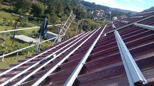 Rastreles cubierta de teja