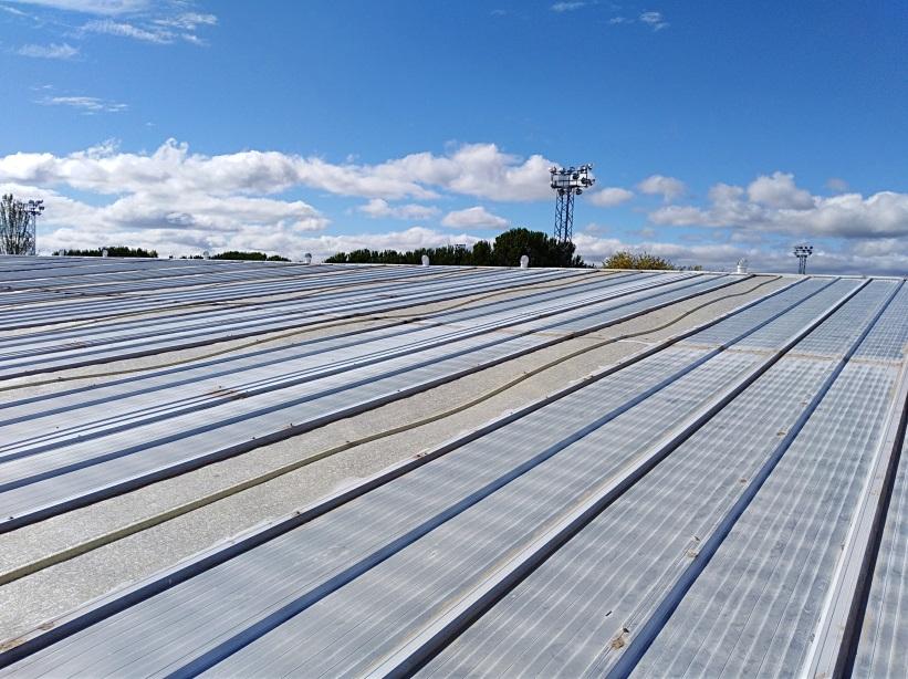 Aislar cubierta de teja