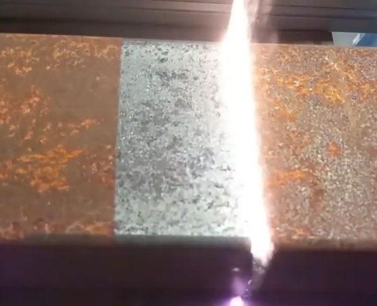 Limpieza superficies metálicas